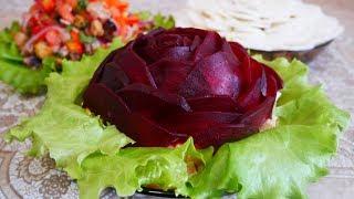 ТОП 3 ЖЕНСКИХ салатов Салаты на 8 марта Салаты на праздничный стол