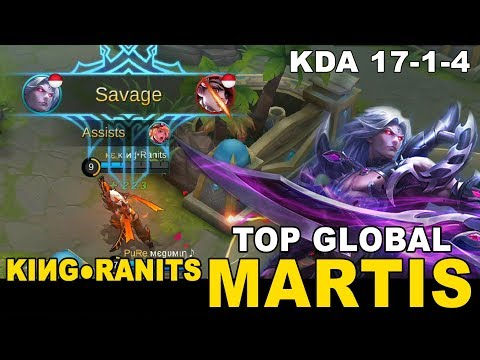 Epic Savage With Fast Roaming (No Buff) By King●Ranits Top Global Martis - Mobile Legends