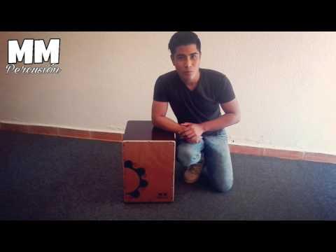 Cajon Peruano/Flamenco ajustable MM Percusión