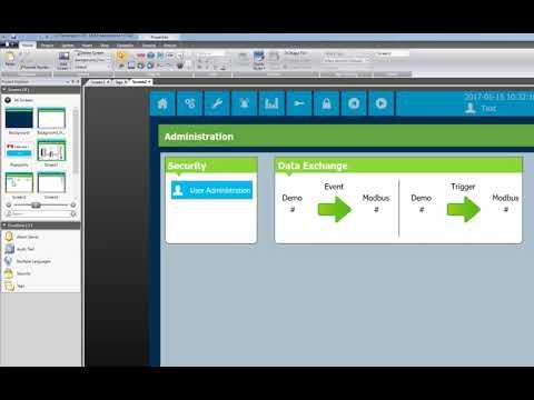 Data exchange iX Developer. Video 12 by Beijer Electronics.