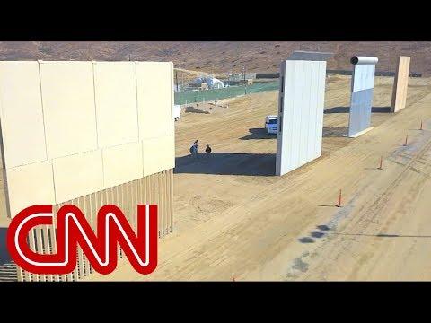 Jake Tapper fact-checks Trump\'s border wall claim