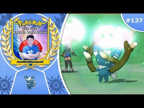 """Menacing Meowstic"" Pokémon Ultra Sun & Moon VGC 2018 Baek to Baek Battles - Episode 137"