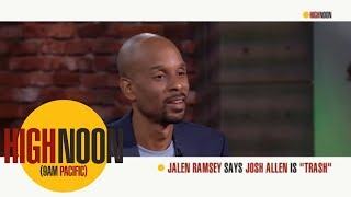 Bomani Jones and Pablo Torre both agree with Jalen Ramsey's take on NFL QB's | High Noon| ESPN Mp3