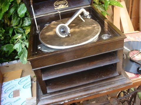 Gramophone Parts Vintage Antique Old Columbia Gramophone for Spare  / Repair