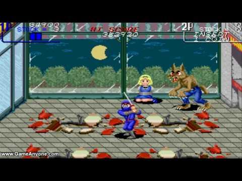 [WHC] The Ninja Kids (Arcade) [HD] Part 1