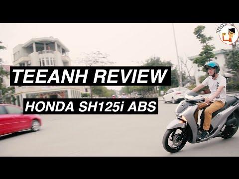 [TEEANH REVIEW #8] HONDA SH125i ABS