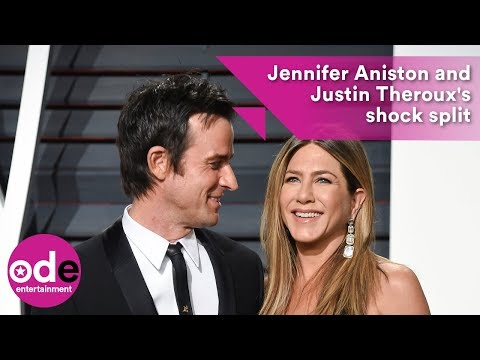 Jennifer Aniston and Justin Theroux in shock split
