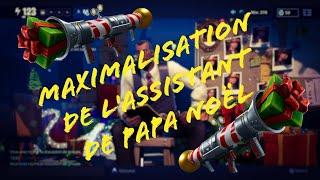 Maximization of Santa's assistant [Fortnite Save the World]