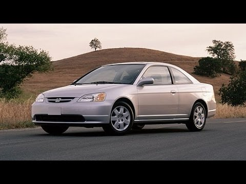2001 Honda Civic Start Up, Road Test, and Review 1.7 L 4-Cylinder