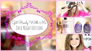 Get Ready With Me:♡ Date Night Edition ♡ (Hair, Makeup & Outift) Thumbnail
