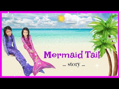 DONGENG PUTRI DUYUNG ♥  Magic Transformation Become Real Mermaid