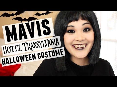 HOTEL TRANSYLVANIA MAVIS HALLOWEEN COSTUME - YouTube 4ab14fc838