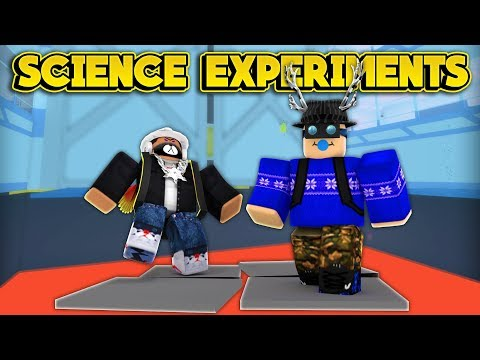 BECOMING SCIENCE EXPERIMENTS! (ROBLOX Lab...