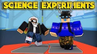 BECOMING SCIENCE EXPERIMENTS! (ROBLOX Lab Experiment)