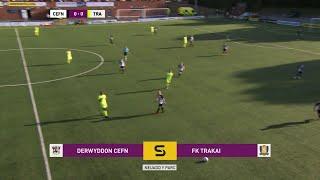 Cynghrair Europa: Derwyddon Cefn 1-1 FK Trakai