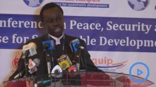PLO Lumumba's moving speech at a peace conference