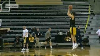 NBA draft lottery prospect and Missouri player Michael Porter Jr. looking good in warmups | ESPN