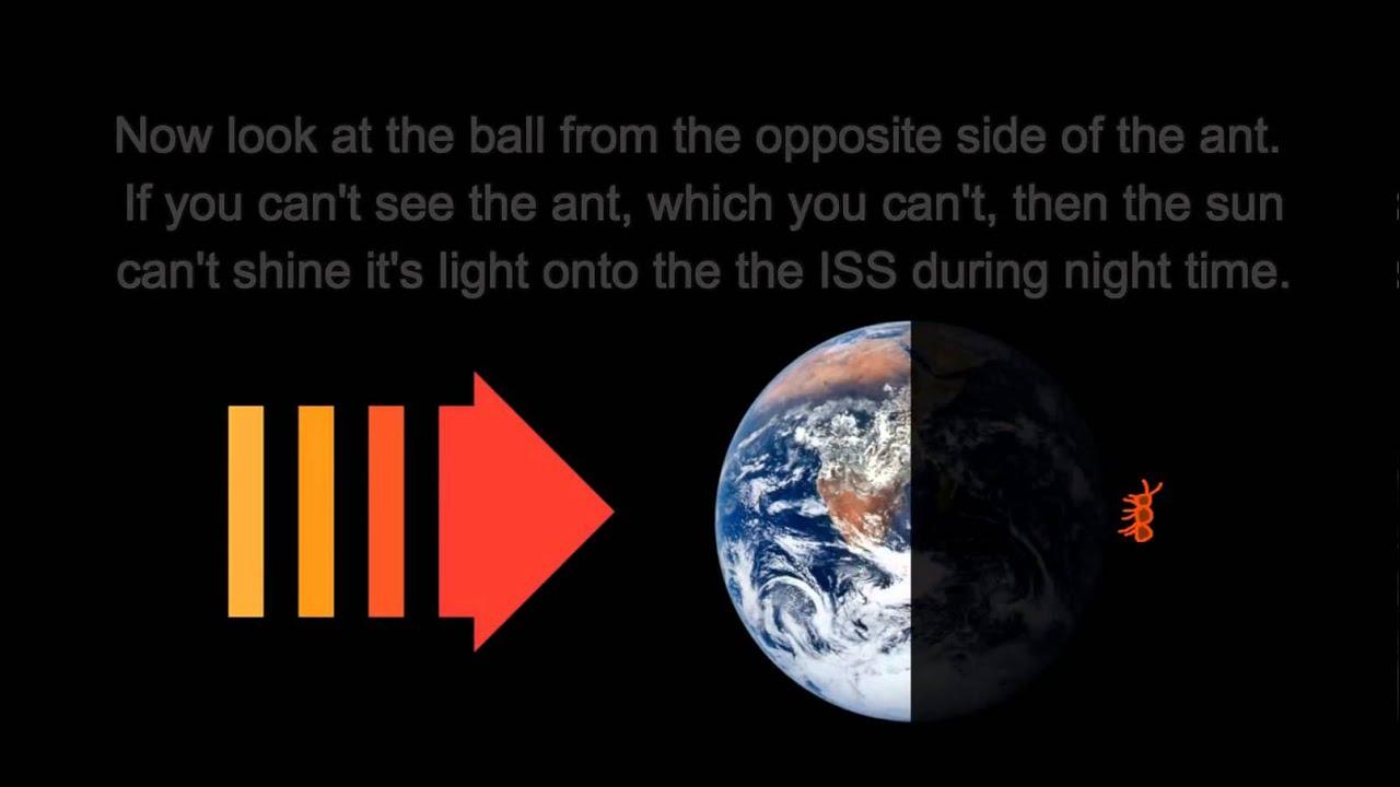 Flat Earth Satellite Hoax Seeing Satellites From Earth - Satellite from earth