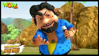 Motu Patlu New Episode  Hindi Cartoons For Kids  John Ka Power Snatcher Powder  Wow Kidz
