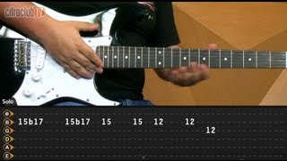 Can't Stop - Red Hot Chili Peppers (aula de guitarra)