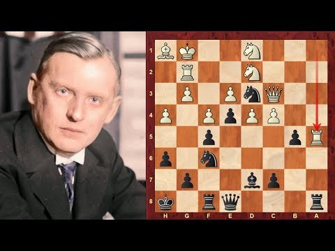 Alexander Alekhine: Top 14 Amazing Chess Sacrifices of all time!