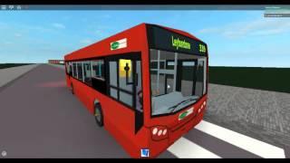 Roblox London Hackney & Limehouse bus simulator Enviro 200 Fleet DM44167 - 44170 on route 339
