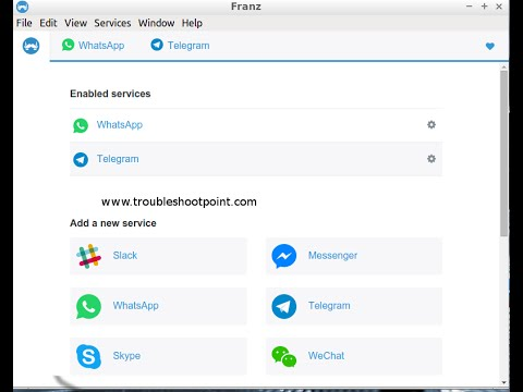 How to Run Franz Messenger on Linux