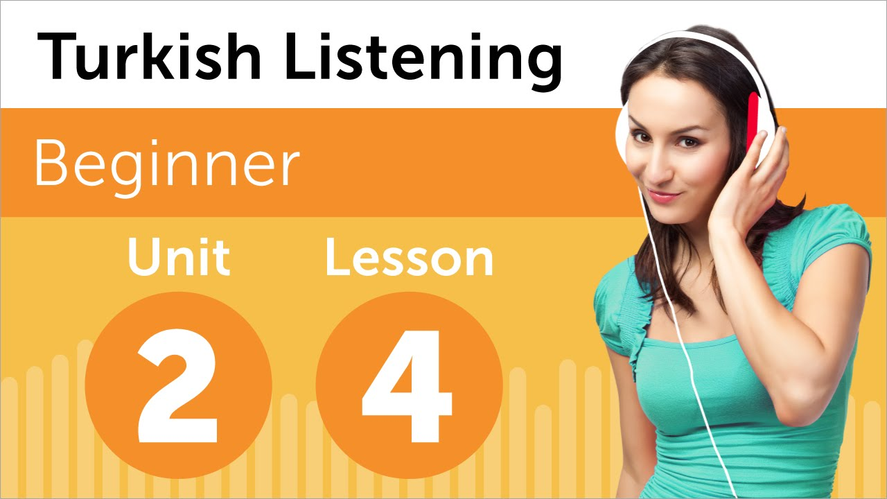 Turkish Listening Practice - Talking About Your Schedule in Turkish