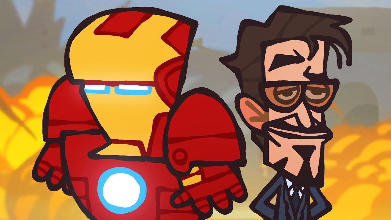 """The Ultimate """"Iron Man"""" Recap Cartoon"""