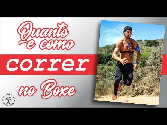 Boxe: Como e quanto devo correr
