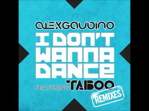 Alex Gaudino feat. Taboo - I Don't Wanna Dance (Dannic Instrumental Remix)