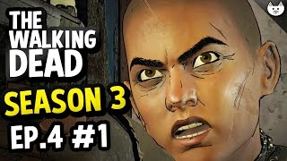The Walking Dead Game Season 3 Episode 4 - CONRAD STILL ALIVE - (Walking Dead Gameplay Ep4 Part 1)
