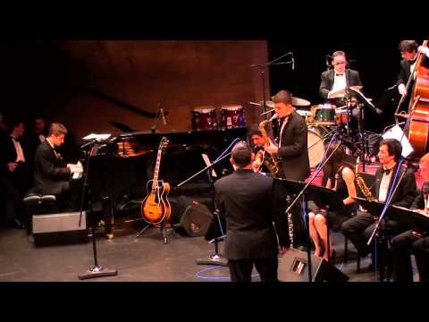 """Song Title"" RHS Jazz Band 1 - Bellevue College Jazz Festival 2015"