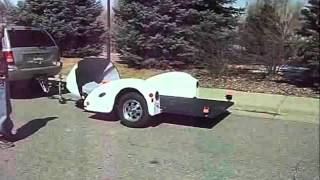 Air Lowering Motorcycle Trailer | The-Ultimate-Trailers.com