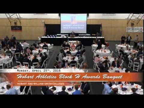 2016 Hobart Athletics Block H Banquet