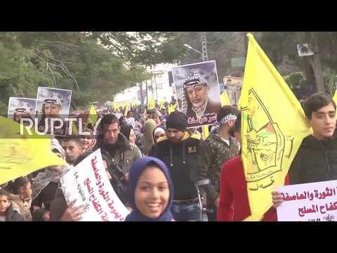 State of Palestine: Fatah celebrates 54th anniversary despite arrests