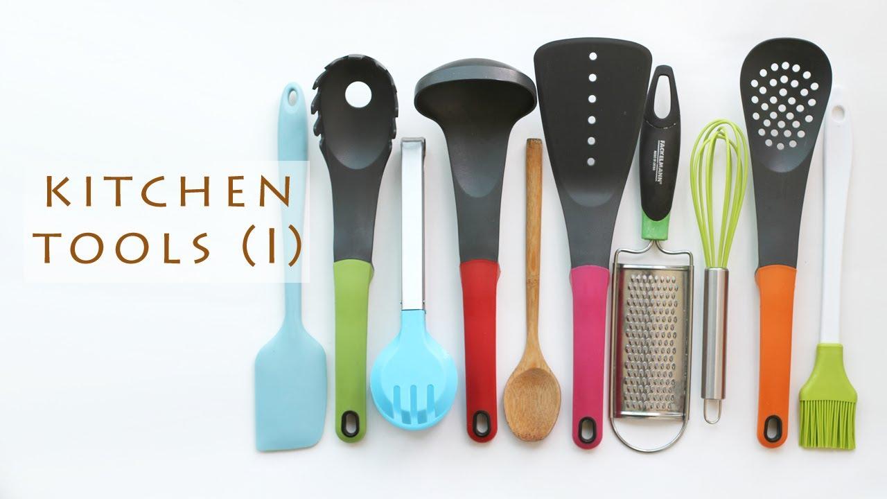 Basic Cooking Utensils I 기본 요리 도구들 Youtube