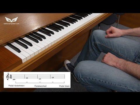 klavier pedale richtig benutzen lernen piano pedal. Black Bedroom Furniture Sets. Home Design Ideas