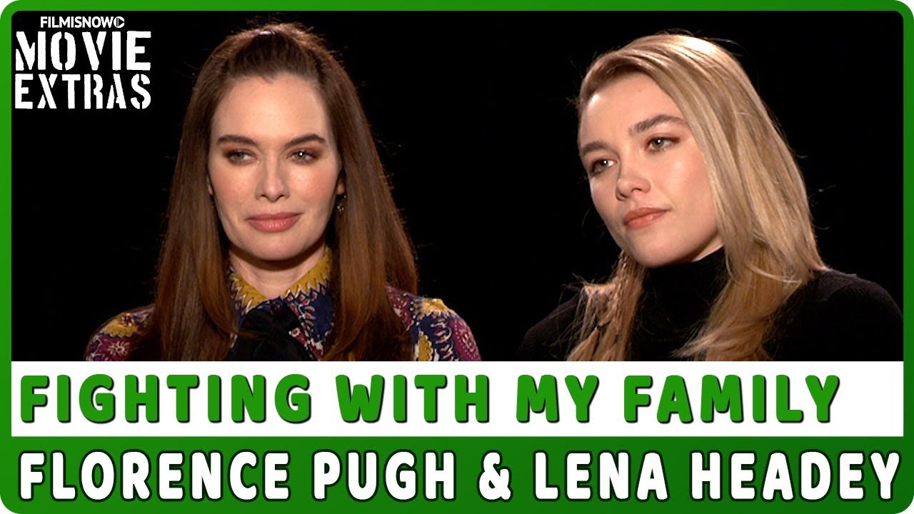 FIGHTING WITH MY FAMILY | Florence Pugh & Lena Headey talk about the movie - Official Interview