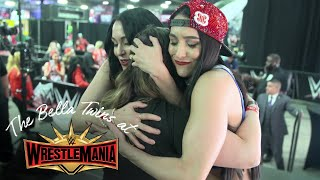The Bella Army shows LOVE at WrestleMania Axxess!