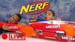Nerf N-Strike MEGA TWINSHOCK Blaster Nerf War Blaster Spotlight