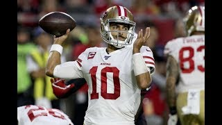 Jimmy Garoppolo San Francisco 49ers QB Film Review vs Cardinals