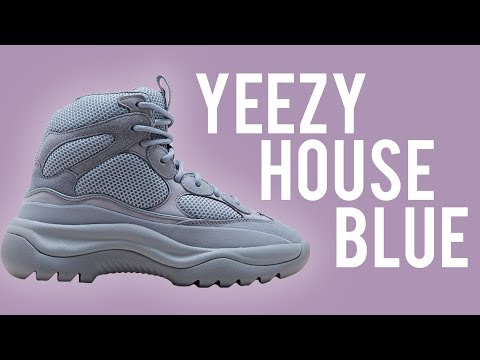 YEEZY DESERT BOOT HOUSE BLUES REVIEW + ON FOOT