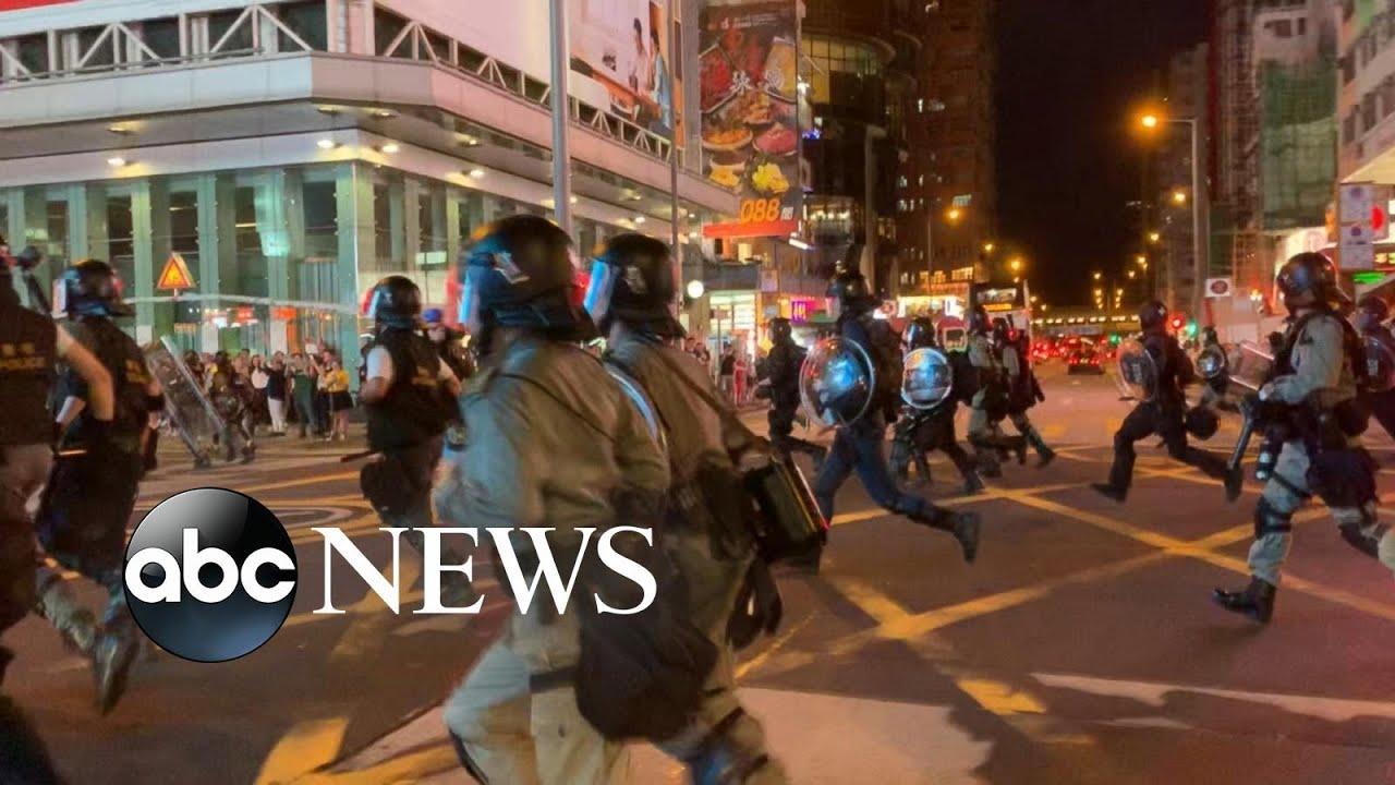 ABC News:Protests in Hong Kong hits its 11th week
