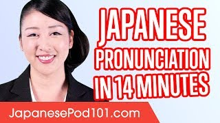 This is your ultimate compilation to Japanese pronunciation And if ...