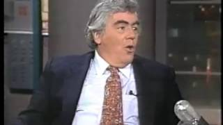 Jimmy Breslin on Late Night, July 21, 1986
