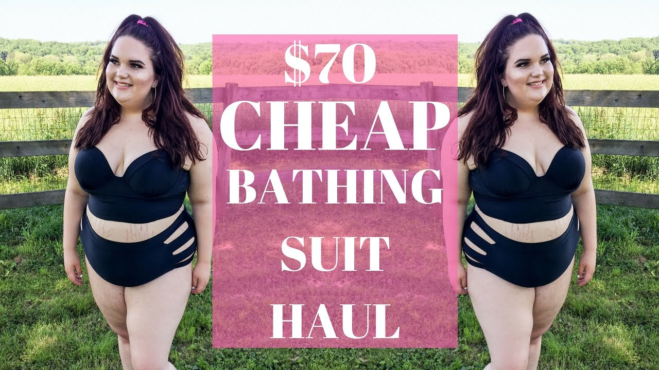 aaeabb194f883 $70 AFFORDABLE ROSEGAL PLUS SIZE BATHING SUIT TRY- ON HAUL | Plus Size  Fashion
