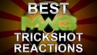 best mw3 trickshot reactions ever