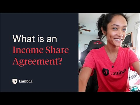 How Income Share Agreements (ISA's) work