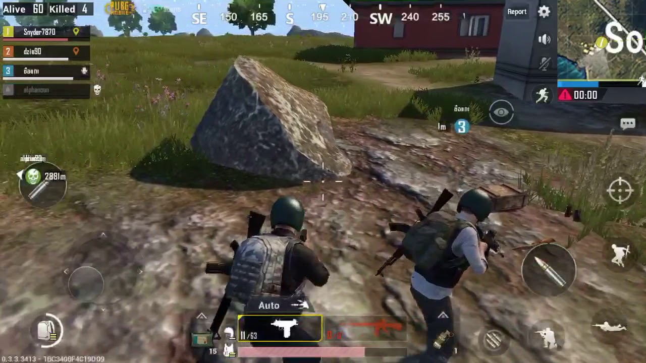 PUBG Mobile Max Graphics IPhone 6S Gameplay